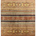 One-of-a-Kind Hartness Hand Woven Wool Brown/Orange Area Rug