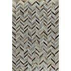 Sari Silkhand Woven Black/Gray Area Rug Rug Size: 8' x 10'