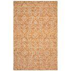Devansh Hand-Tufted Wool Rust Area Rug Rug Size: 8' x 10'