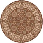 Shapes Coffee Persian Rug Rug Size: Round 7'9