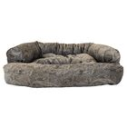 Show Dog Premium Overstuffed Bolster Dog Bed Size: Small (30