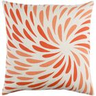 Flying Colors Eye of the Storm Throw Pillow Size: 20
