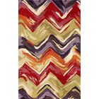 Terrill Hand Tufted Wool Red/Purple Area Rug Rug Size: Rectangle 8' x 10'
