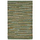 Sardis Hand-Woven Green Indoor/Outdoor Area Rug Rug Size: 5' x 7'6