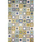 Nelda Big Squares Indoor/Outdoor Rug Rug Size: Rectangle 5' x 7'6