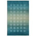 Lundin Hand-Loomed Blue Area Rug Rug Size: 5' x 8'