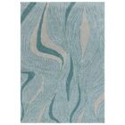 Gaydos Hand-Tufted Teal Area Rug Rug Size: 3'6