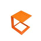 Charters Towers Side Table Color: Orange