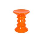 Ightham End Table Color: Orange