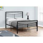 Haney Platform Bed Size: Full, Color: Black