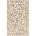 Smithsonian Hand-Tufted Neutral/Brown Area Rug Rug Size: Runner 2'6
