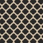 Modern Trellis Hand-Woven Ink Area Rug Rug Size: Square 7'3