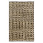 Hand Knotted Ink Area Rug Rug Size: Rectangle 8' x 10'