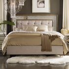 Sanctuary Upholstered Panel Bed Size: King