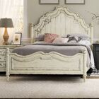 Auberose Panel Bed Size: King, Color: White