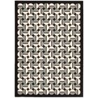 Griffith Black/Grey Geometric Area Rug Rug Size: Rectangle 7'9