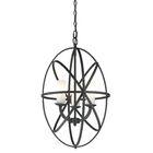 Fridley 3-Light Globe Chandelier Finish: Bronze