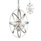 Fridley 3-Light Globe Chandelier