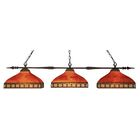 Beech Hill 3-Light Pool Table Light Shade Color: Red