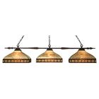 Beech Hill 3-Light Pool Table Light Shade Color: Beige