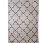 Synergy White/Gray Area Rug Rug Size: Rectangle 7'9
