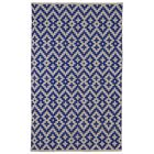 Zen Samsara Cotton Indigo/Natural Area Rug Rug Size: 4' x 6'