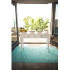 Zen Cancun Blue Sea Area Rug Rug Size: 4' x 6'