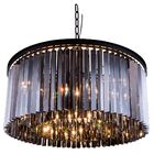 Lavinia 8-Light Crystal Chandelier Finish: Mocha Brown, Size: 13.5