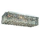Bratton 4-Light Flush Mount Size / Crystal Grade: 16