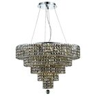 Bratton Contemporary 14-Light Chandelier Crystal Color / Crystal Trim: Crystal (Clear) / Strass Swarovski