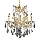 Regina Traditional 6-Light Candle Style Chandelier Finish / Crystal Finish / Crystal Trim: Gold / Crystal (Clear) / Royal Cut