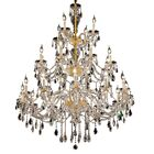 Schroeppel 24-Light Candle Style Chandelier Color: Gold, Crystal Trim: Royal Cut