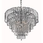 Westrem 6-Light Crystal Chandelier Finish: Chrome, Crystal Grade: Egyptian