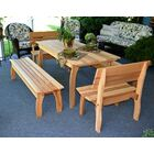 Cedar Gathering Dining Set Size: 32