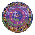 Fun Time Wheel of Fun Purple Area Rug
