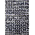 Urban Hand-Knotted Blue/Gray Area Rug Rug Size: 6' x 9'