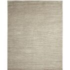 Broadway Hand-Knotted Gray Area Rug Rug Size: 8' x 10'