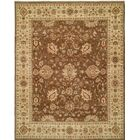 Royal Zeigler Hand-Knotted Brown/Beige Area Rug Rug Size: 2' x 3'