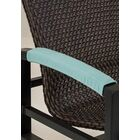 Dining Chair Armrest Cover Color: Sparkling Water