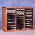 300 Series 60 CD Multimedia Tabletop Storage Rack Color: Dark