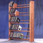 500 Series 275 CD Multimedia Storage Rack Color: Clear