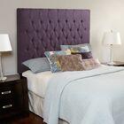 Laurent Upholstered Panel Headboard Size: Full, Upholstery: Iris Purple