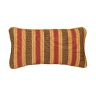Corded Autumn Stripes Outdoor Sunbrella Lumbar Pillow Size: 13