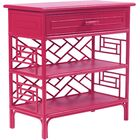 Chippendale End Table Finish: Hot Pink