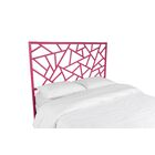 Tiffany Open-Frame Headboard Color: Hot Pink, Size: Queen