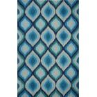 Overbeck Blue Area Rug Rug Size: Rectangle 5'6