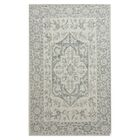 Falcone Gray Area Rug Rug Size: Rectangle 7'6