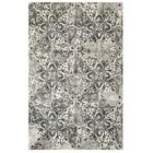Stone Wall Hand-Tufted Black Area Rug Rug Size: Rectangle 8' x 10'