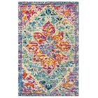 Rhapsody Hand-Tufted Pink/Blue Area Rug Rug Size: Rectangle 3' x 5'
