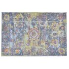 Pied-A-Terre Wool Blue Area Rug Rug Size: Rectangle 7'6